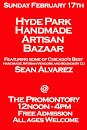 Sunday 2/17: Hyde Park Handmade Artisan Bazaar @ The Promontory