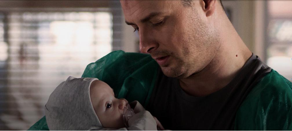 Maks zostaje ojcem.