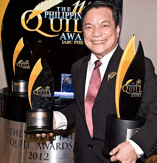 ABS-CBN Most Awarded TV Network in Philippine Quill Awards 2012