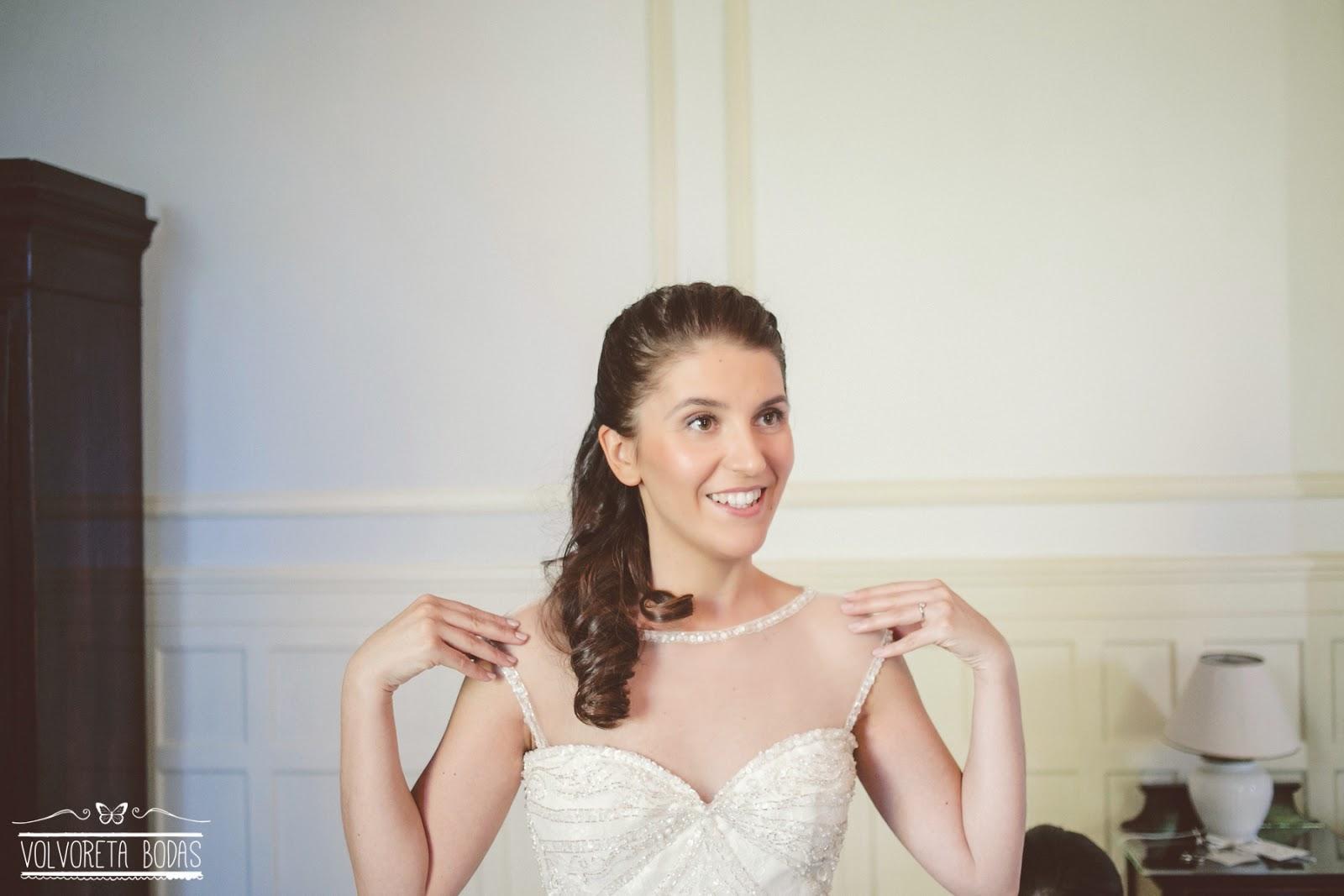 novia vestido pronovias