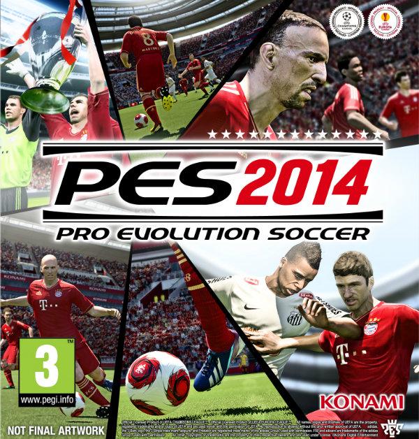 تحميل لعبة pes2014 كاملة برابط واحد مباشر Pro Evolution Soccer 2014