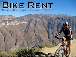 Alquiler de bicicletas, Lima-Perú