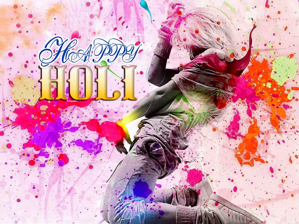 happy holi images photos girls