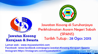 Suruhanjaya Perkhidmatan Awam Negeri Sabah (SPANS)