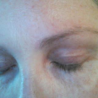 eyelash close-up