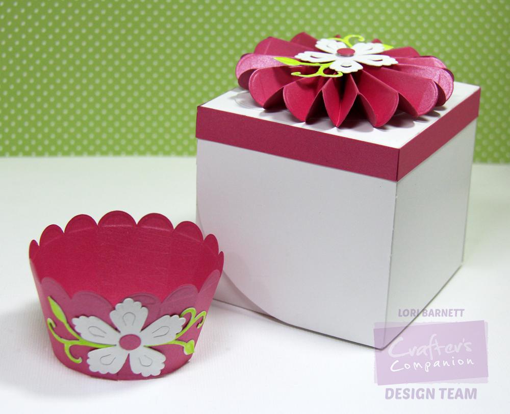 Stamp Scents: NEW Single Cupcake Box