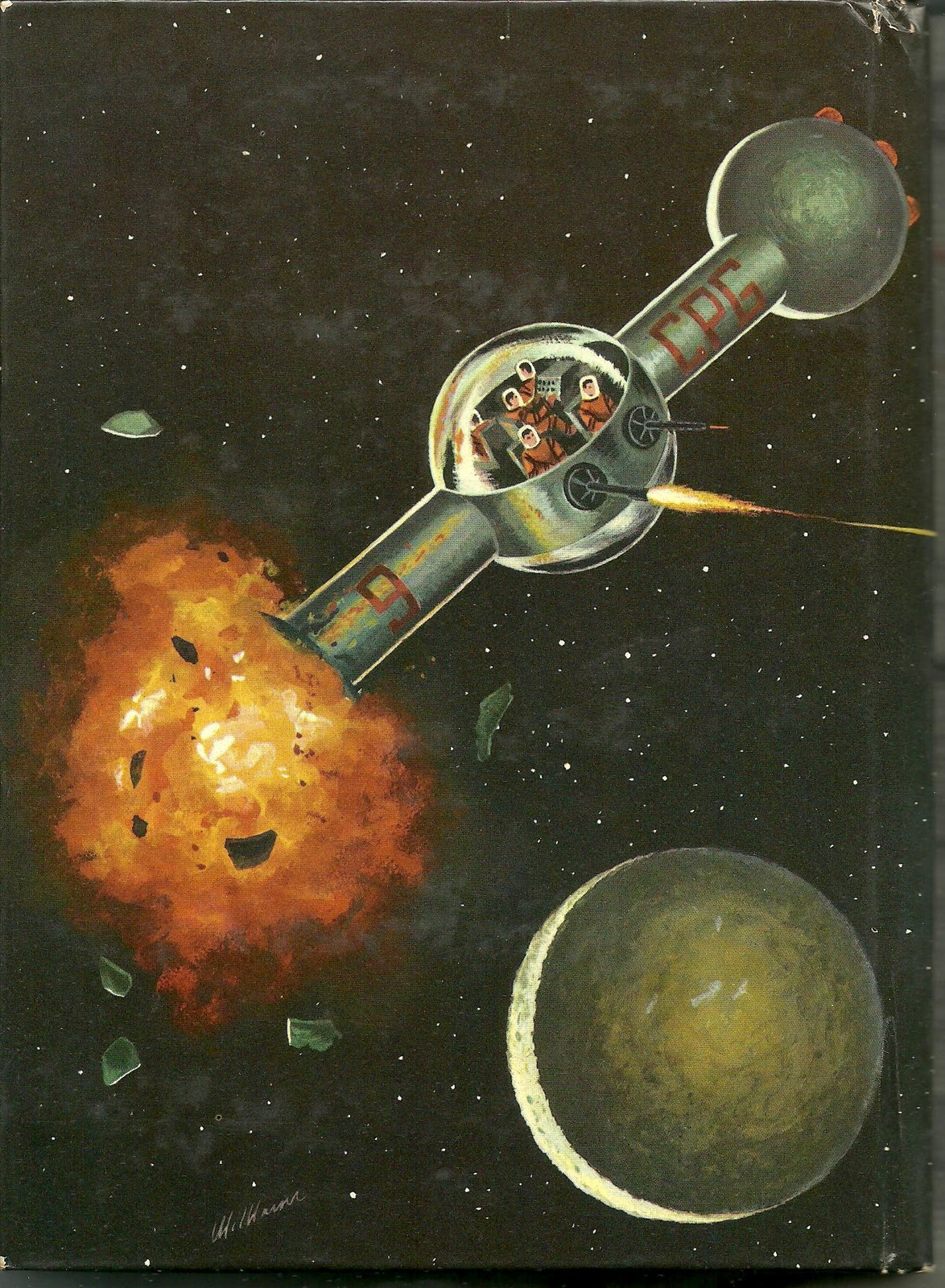 Vintage Technology Obsessions: Juvenile Cold War Space Fiction