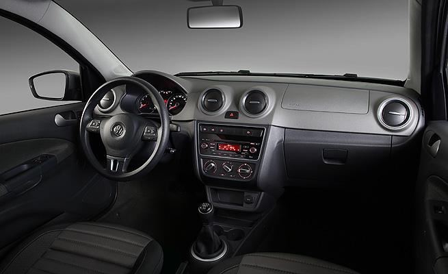 Realidade Ou N 227 O Fotos Do Novo Volkswagen Voyage 2013