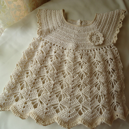 Girl dress in cotton