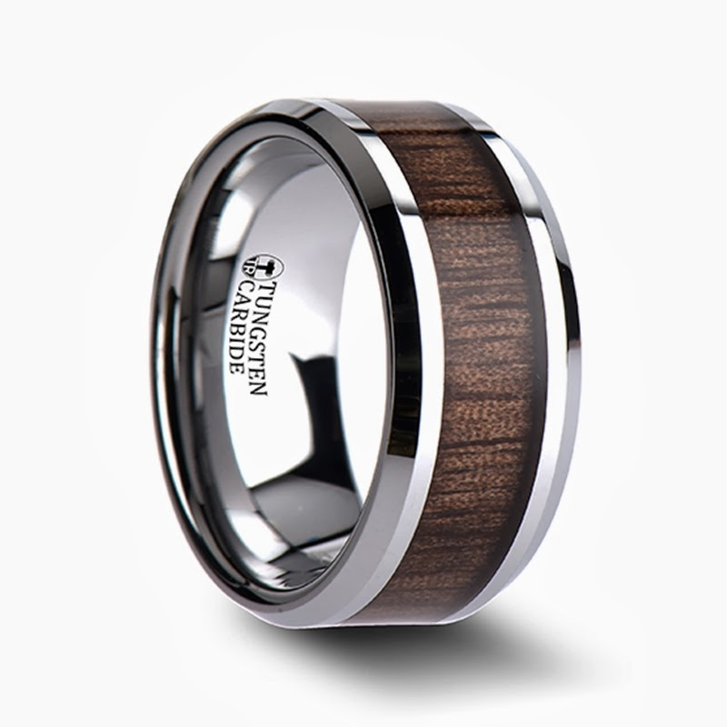 unique tungsten wedding rings are tungsten carbide rings