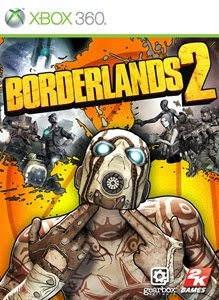 cover xbox360 du jeu borderlands 2