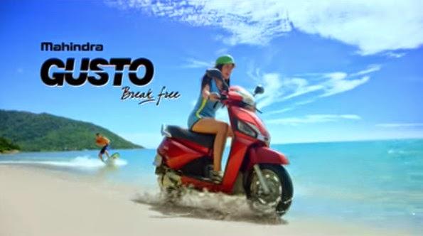 Mahindra Gusto 110cc price