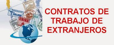 Contratos de Trabajo de Extranjeros