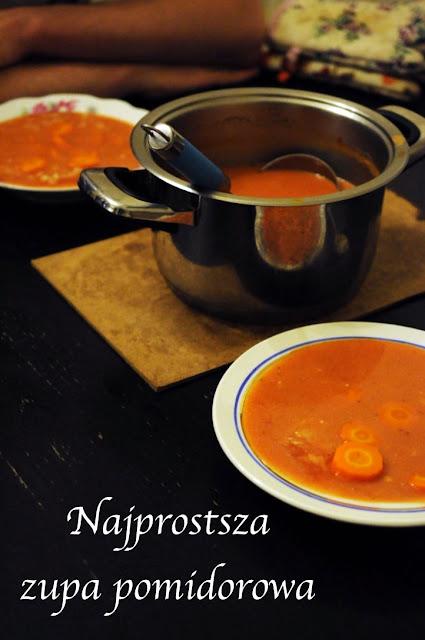 Najprostsza zupa pomidorowa