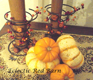 old springs, fall decor, pumpkin display, fall berries