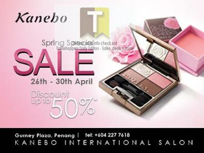 KANEBO Spring Special Sale 2012