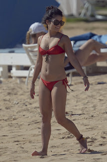 Vanessa Hudgens Sexy in Bikini Candids in Hawaii Beach HQ Photos
