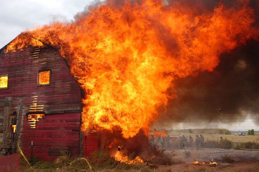 barn burning theme com creative writing theme