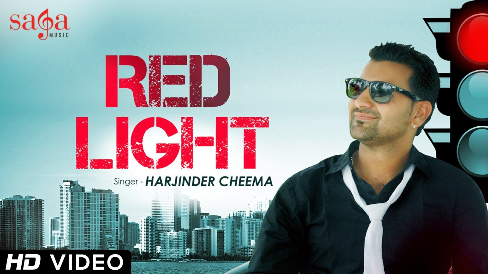 RED LIGHT FULL SONG LYRICS & VIDEO | HARJINDER CHEEMA | NEW PUNJABI SONGS 2014