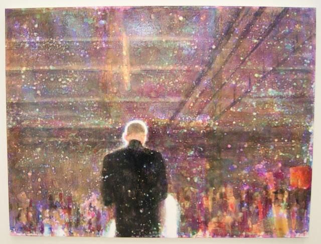 Stephen Andrews POV Exhibit at the Art Gallery of Ontario in Toronto, exhibition, culture, art, artmatters, photography, paintings, Canadian, artist, solo, ceramics, ontario, canada, AGO, the purple scarf, melanie.ps, auditorium