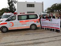 Alhamdulillah ! Rakyat Palestina Terima 1 Unit Mobil Ambulance dari Kaum Muslimin Indonesia