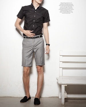 lelaki handsome pakai seluar pendek