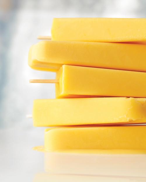 Cooking Recipes: Creamy Orange Pops