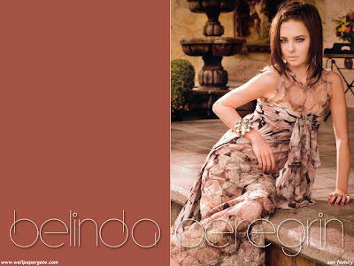 Pop Singer Belinda Peregrin Wallpaper