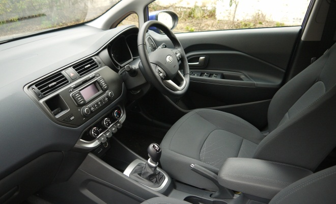 Kia Rio 2012 interior
