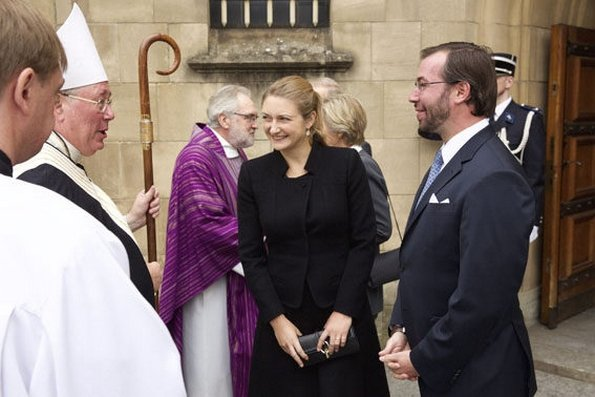 Luxembourg Royals Attended Annual Memorial Mass