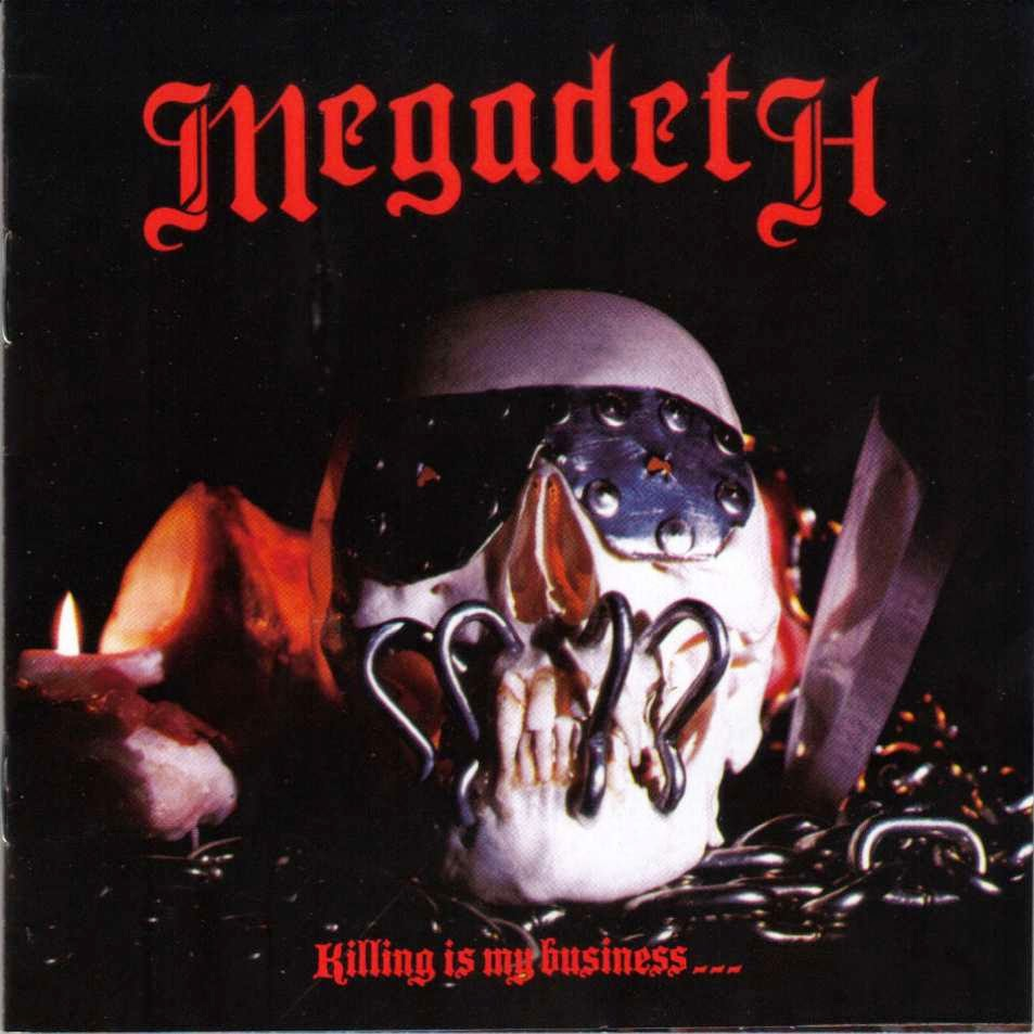 Megadeth Album Covers Boneyard Metal: 80's M...