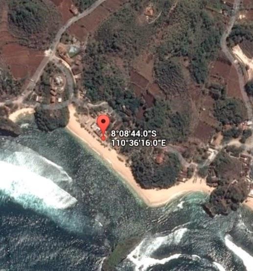 Koordinat Lokasi Pantai Sadranan_siparjo.com