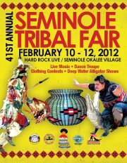 Seminole Tribal Fair 2012