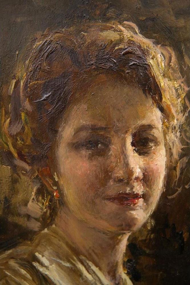 Gaetano Esposito Ritratto femminile