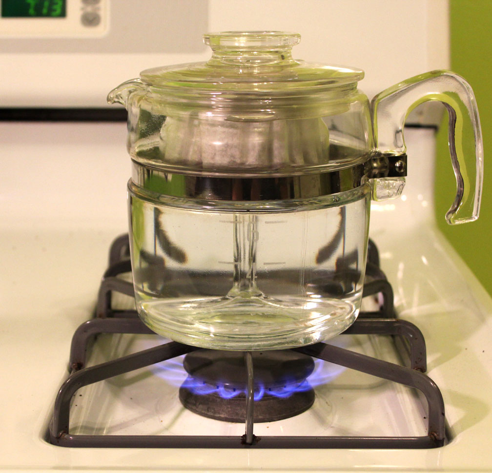 Pyrex Coffee Maker How To Use : junk and howe: Pyrex Percolator - Made in the USA