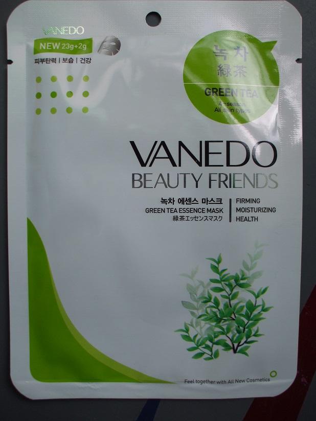 Vanedo Beauty Friends Sheet Mask Green Tea