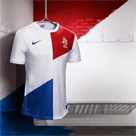 Jersey Belanda World Cup 2014