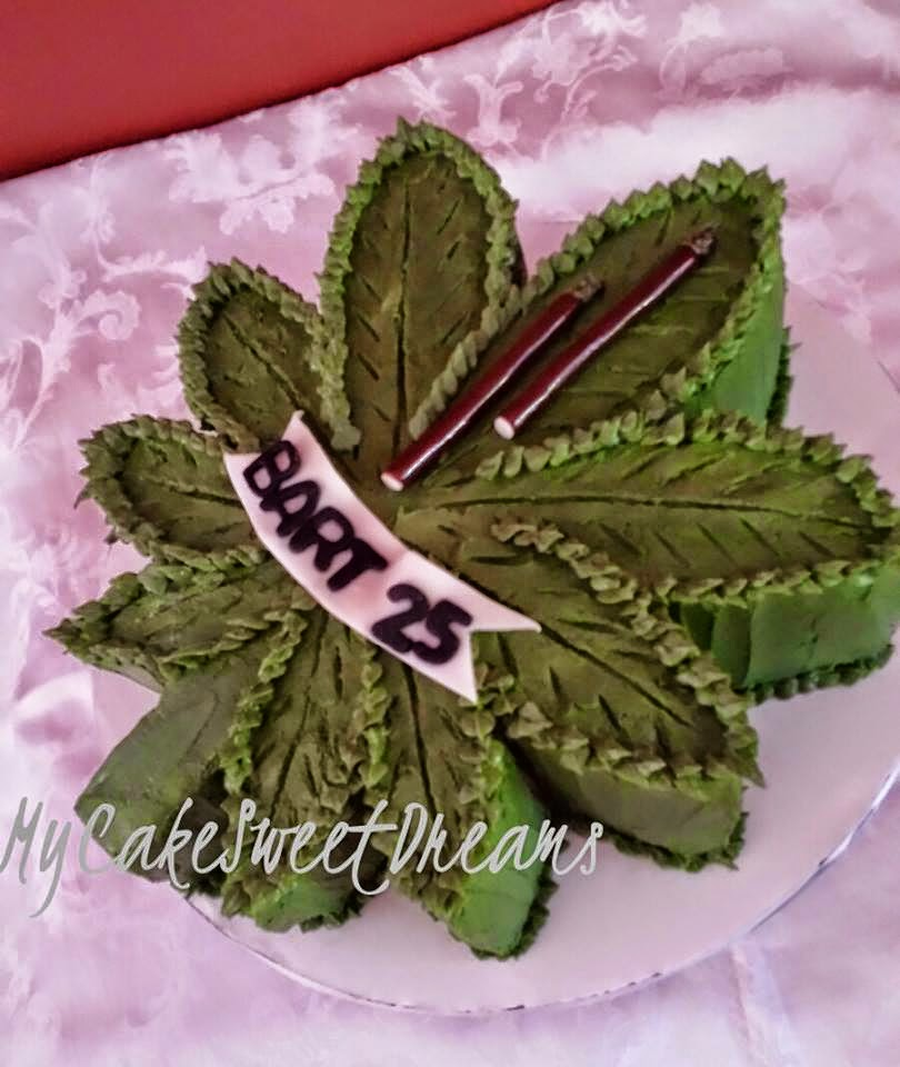 MyCakeSweetDreams: Stoner Birthday Cake
