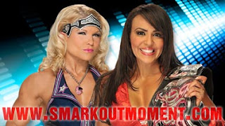Layla vs Beth Phoenix Over the Limit 2012 PPV Online Divas Championship