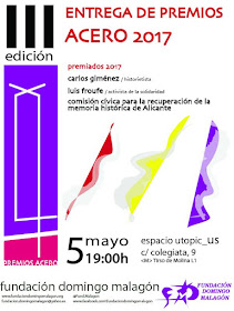 III Entrega de Premios Acero 2017