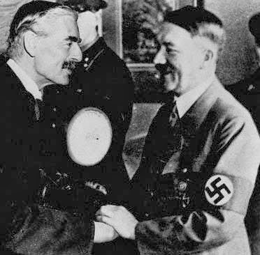 Hitler Chamberlain Munich worldwartwo.Filminspector.com