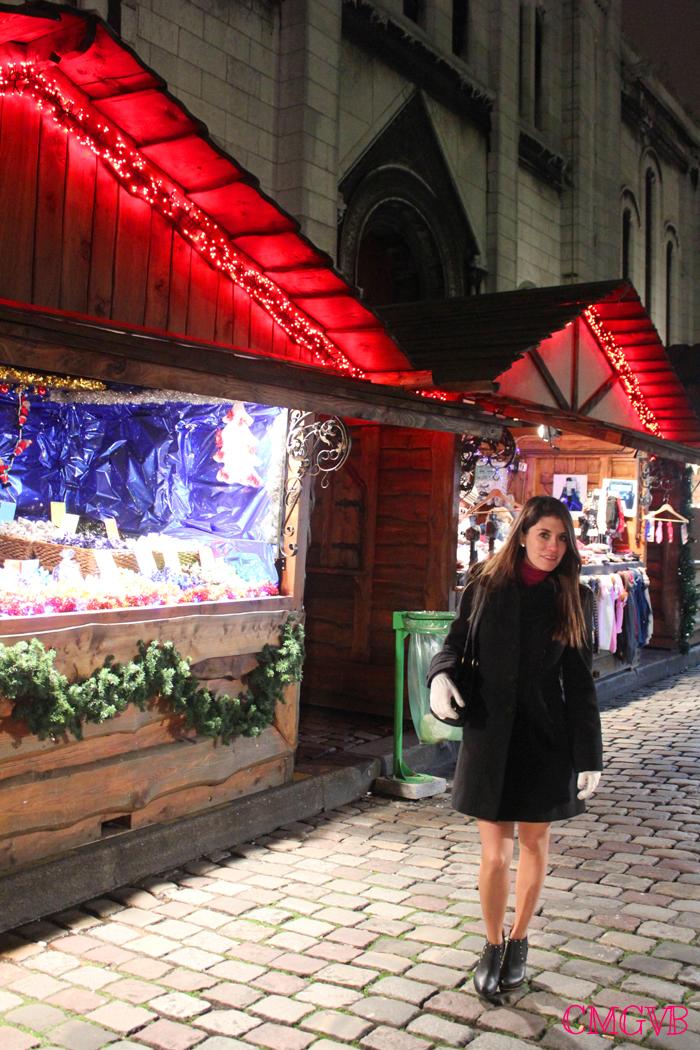 diana dazzling, fashion blogger, fashion blog,  cmgvb, como me gusta vivir bien, dazzling, luxury, Christmas, Paris, navidad, Noel, village Montmartre