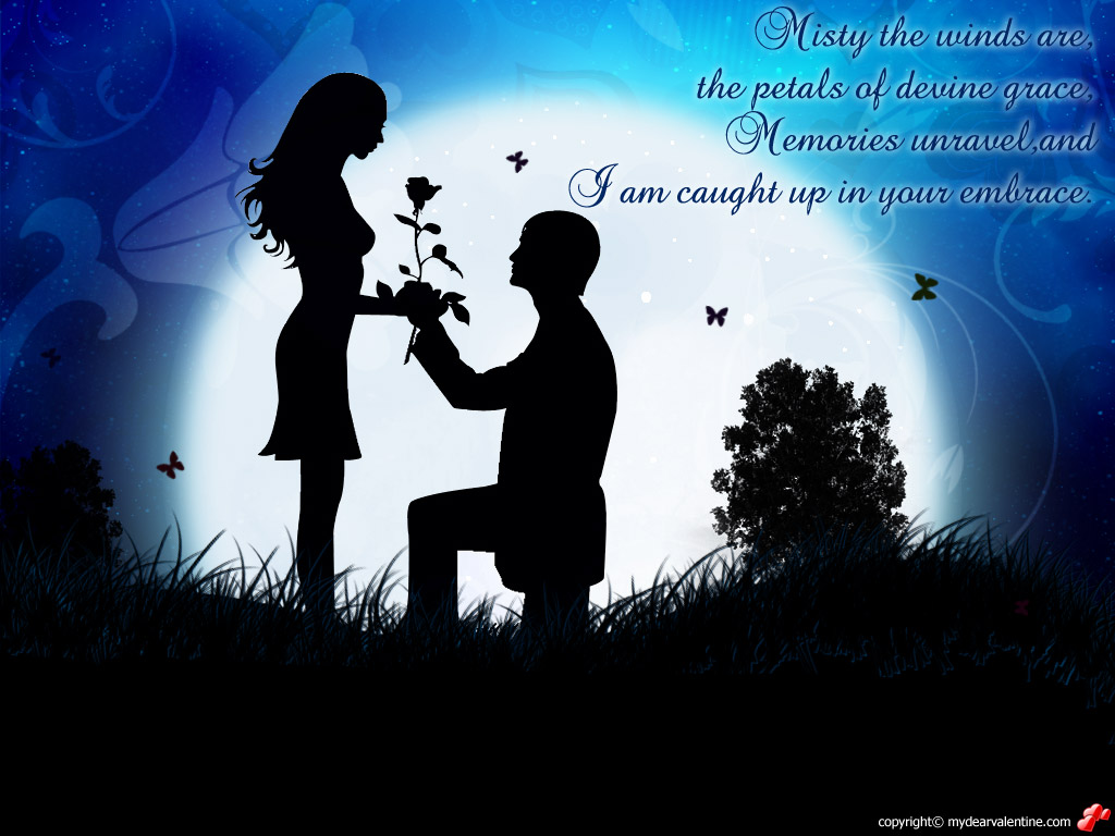 A wallpapers home romantic paradise digital art beautiful love wallpapers nature background - Couple best images ...