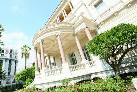 La Villa Masséna à Nice, le style Empire sur la côte d'Azur. Images