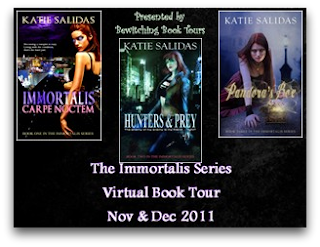 The Immortalis Series Virtual Book Tour: Interview with Katie Salidas + Giveaway