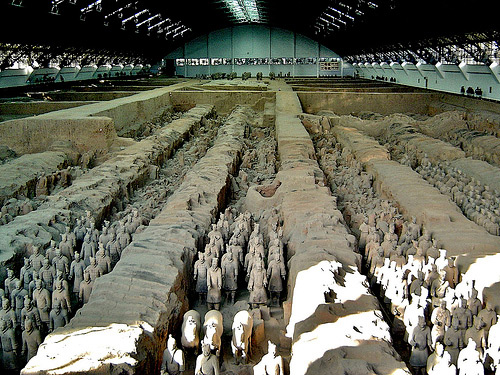 The Mausoleum of Qin Shi Huangdi
