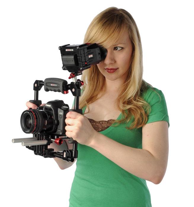 DSLR-filmeren