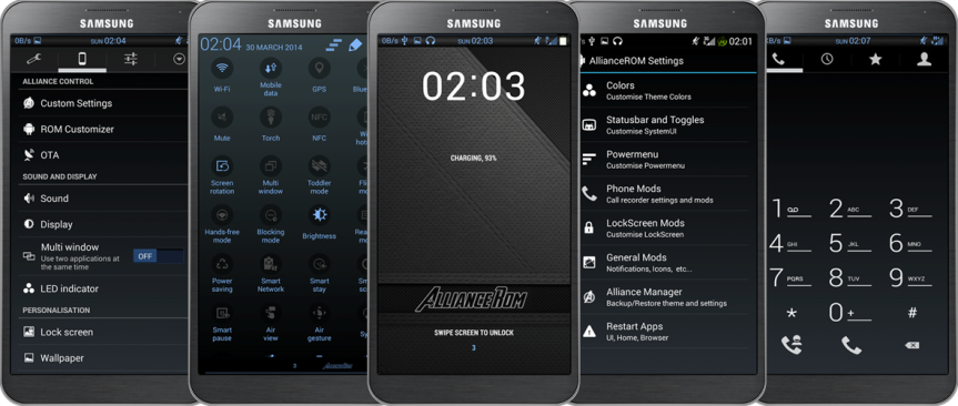 update galaxy s4 with latest android 4.4.2 based alliance rom