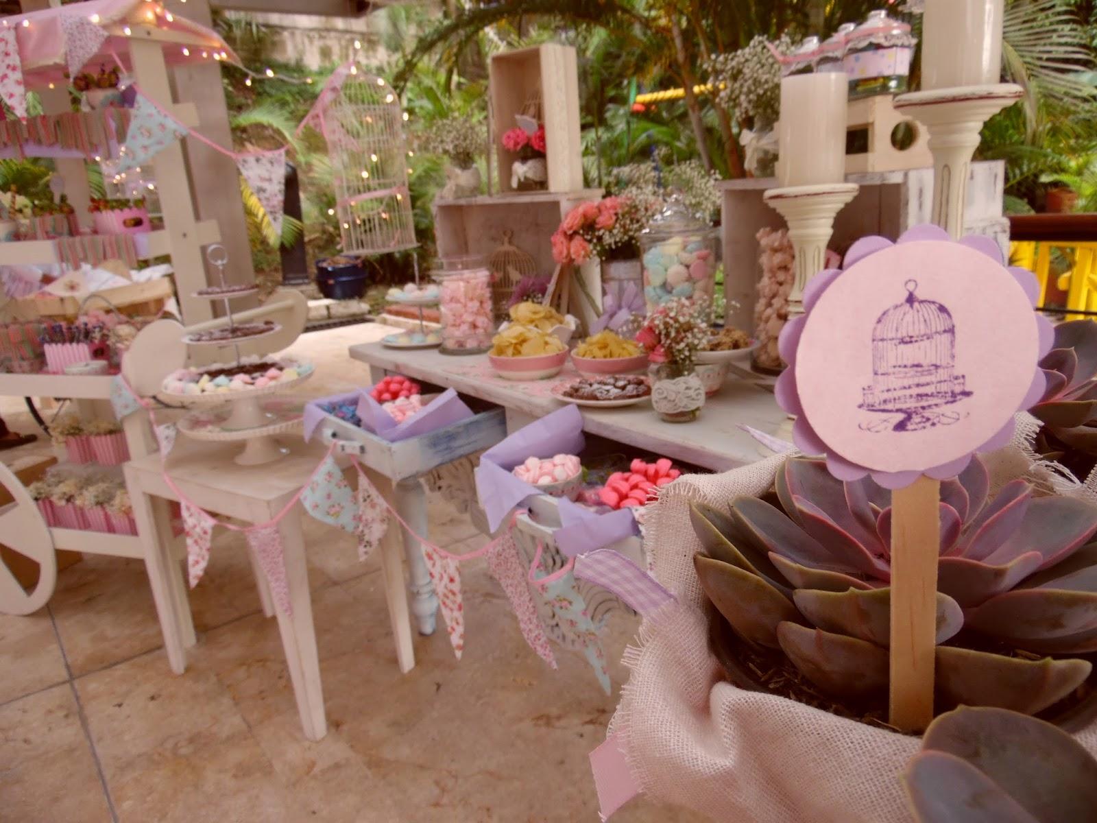 decoracion primera comunion estilo vintage