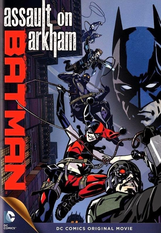capa Download – Batman: Ataque Ao Arkham –  AVI Dual Áudio e RMVB Dublado (2014)